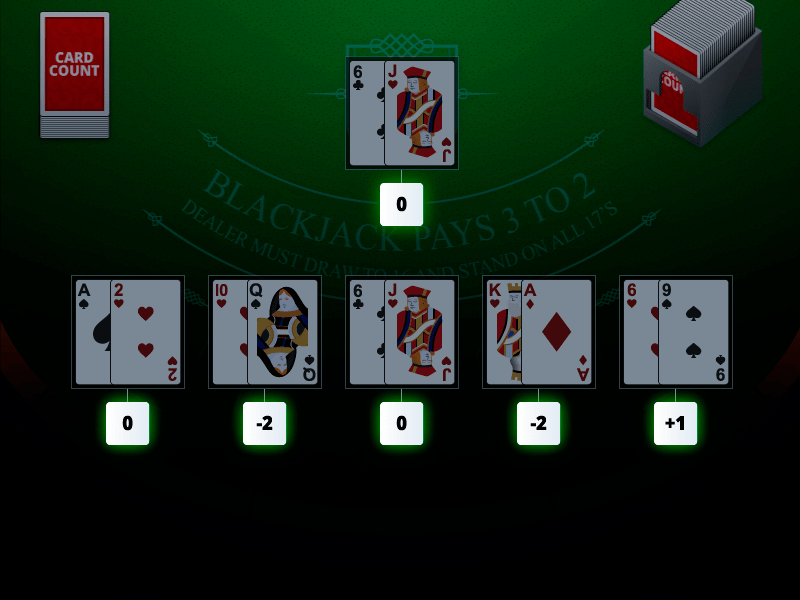 Blackjack counting cards Duelz 61941
